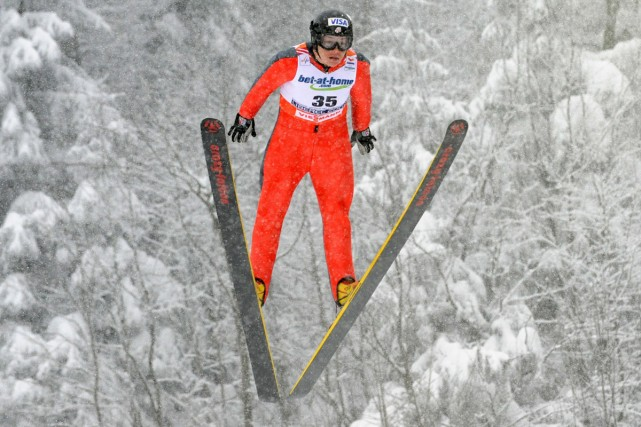 Le saut à ski féminin figure parmi les... (Photo: AFP)