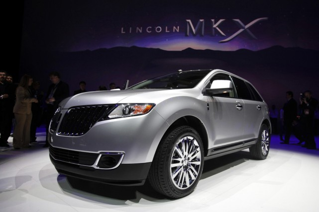 La Lincoln MKX 2011.... (Photo Reuters)
