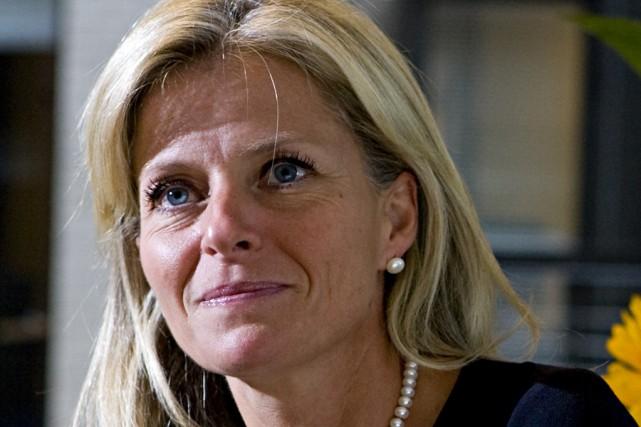 La présidente de la Société du Havre de... (Photo: François Roy, Archives La Presse)