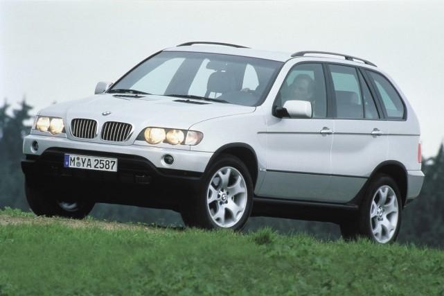BMW X5 2006.... (Photo BMW)
