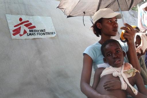 MSF a déjà soigné plus de 4000 patients... (Photo: AFP)