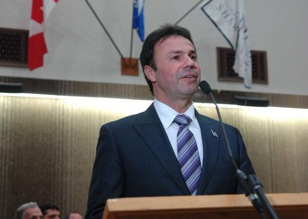 Le maire de Shawinigan, Michel Angers.... (Photo: Ève Guillemette)
