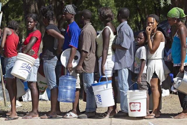 L'aide supplémentaire d'Ottawa parviendra en Haïti par l'entremise... (Photo: Patrick Sanfaçon, La Presse)