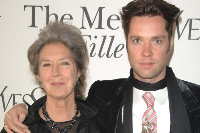 Kate McGarrigle et son fils Rufus Wainwright.... (Photo: AP)
