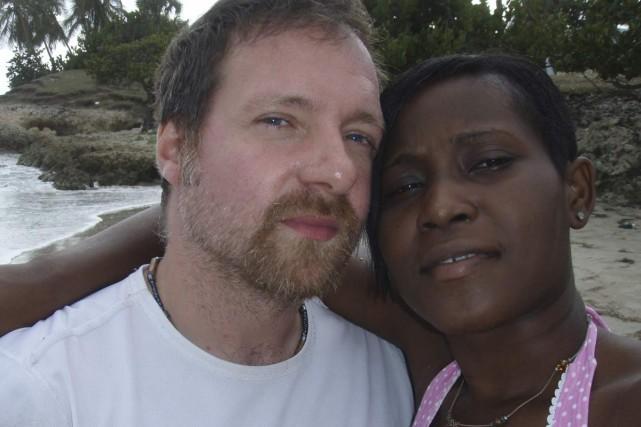 Patrick Sauvé et Rachelle Norbrun en décembre dernier....