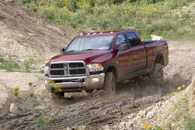 Le Dodge Ram HD.... (Photo fournie par Dodge Ram)