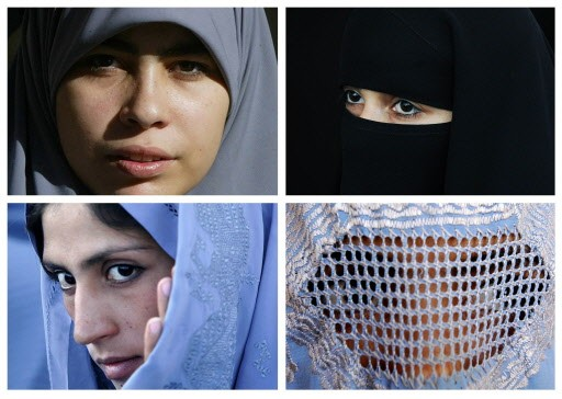 De gauche à droite, et de haut en... (Photo: AFP)