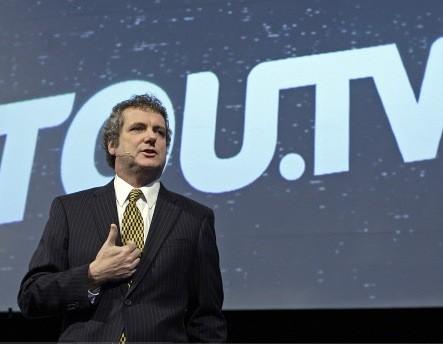 TOU.TV est une façon de maintenir le leadership... (La Presse, Robert Mailloux)
