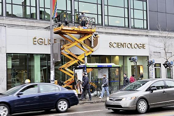 Les scientologues inaugureront leur toute nouvelle église, en... (Le Soleil, Patrice Laroche)