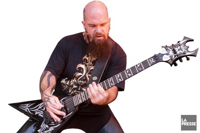 Kerry King guitariste de Slayer Photo La PresseKerry King Meme
