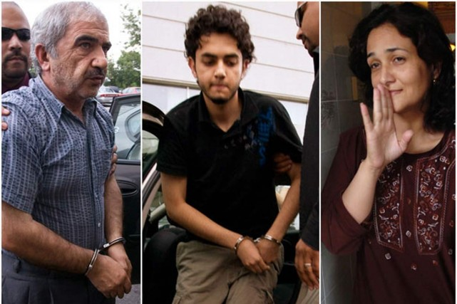 Mohammad Shafia, son fils Ahmed et sa femme... (Archives La Presse)