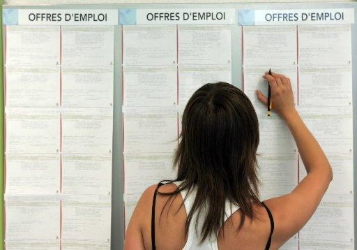 Le nombre de personnes recevant des prestations régulières d'assurance-emploi a... (Photo AFP)