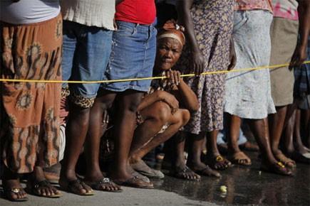 Les îles caribéennes de la Dominique et de Sainte-Lucie vont envoyer en Haïti... (Photo: AP)