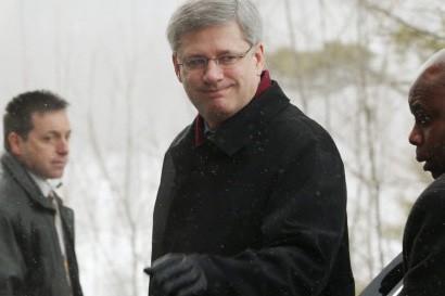 Le parti conservateur de Stephen Harper obtiendrait moins... (Phtoo: PC)