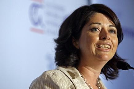La ministre québécoise de l'Environnement, Line Beauchamp, et... (Photo: Robert Mailloux, La Presse)
