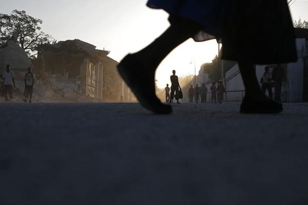 Les habitants de Port-au-Prince qui ont fui cette ville surpeuplée depuis le... (Photo AP)