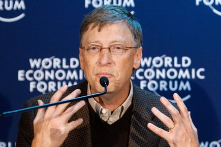 Bill Gates.... (Photo: AP)