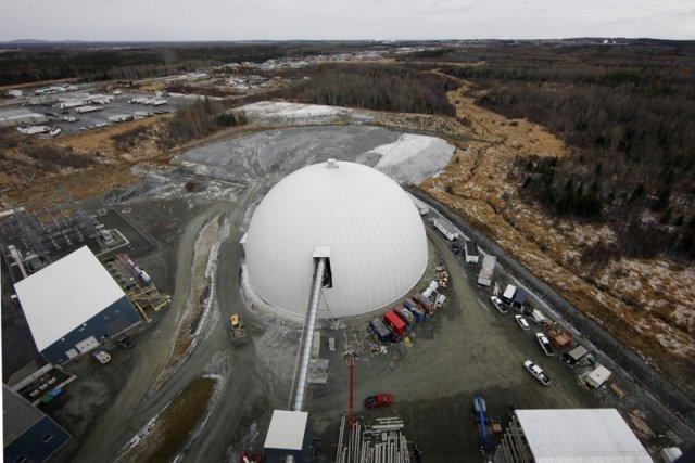 La mine d'or Goldex d'Agnico-Eagle à Val-D'Or.... (Photo Robert Skinner, La Presse)
