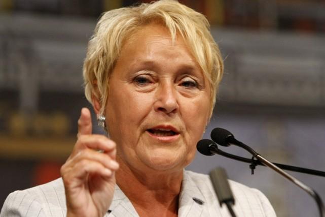 La chef du Parti québécois, Pauline Marois... (Photo: archives Le Soleil)