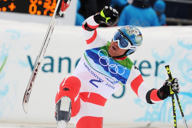 Didier Cuche, l'un des favoris pour une médaille... (Photo: AFP)