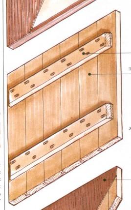l 39 assemblage de planches transversales brico. Black Bedroom Furniture Sets. Home Design Ideas