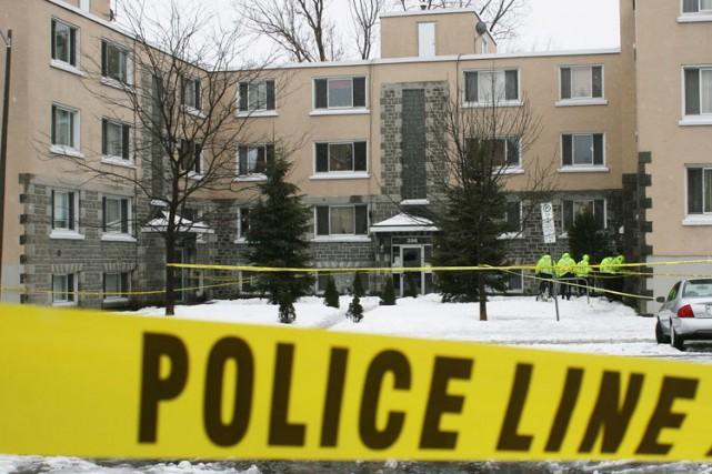 Un homme de 27 ans a été accusé de meurtre non-prémédité, après l'incendie... (Étienne Ranger, LeDroit)