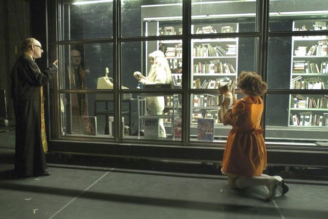 Lipsynch, de Robert Lepage, est le récit croisé... (Photo: Érick Labbé, fournie par le Théâtre Denise-Pelletier)