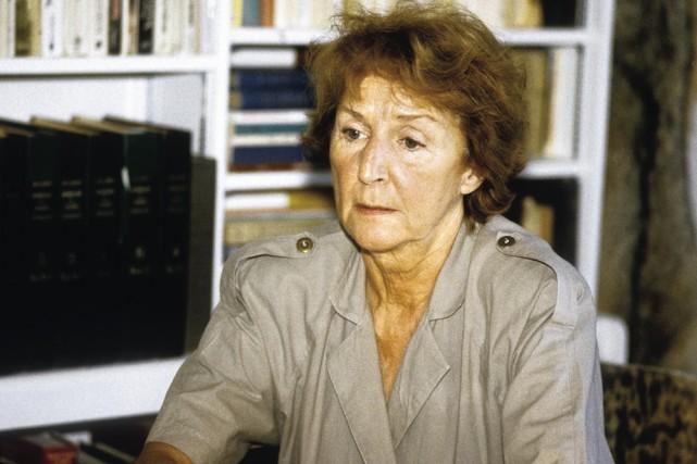 Madeleine Ferron... (Photo: Jean-Marie Villeneuve, Le Soleil)