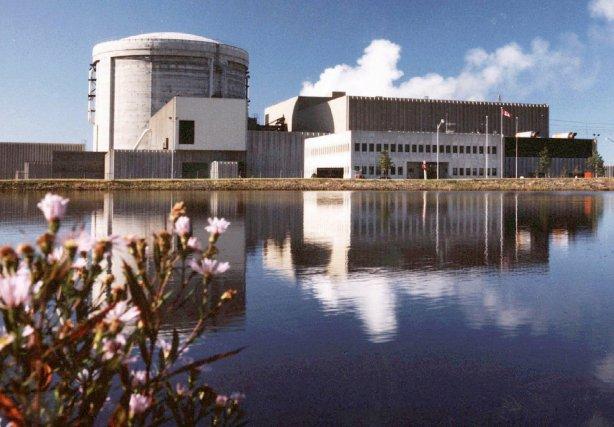 La centrale nucléaire de Pointe Lepreau, au Nouveau-Brunswick.... (PHOTO: ARCHIVES PC)