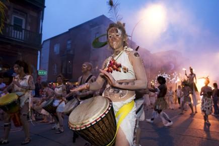 Au moins huit festivals montréalais veulent s'unir pour améliorer leur... (Photo: Robert Skinner, La Presse)
