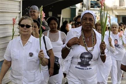 Cette première journée commémorant les arrestations de 75... (Photo: Reuters)