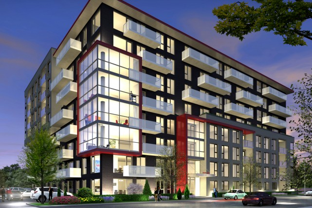 rouge condominiums la m tamorphose du secteur se concr tise danielle bonneau projets. Black Bedroom Furniture Sets. Home Design Ideas