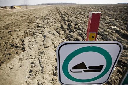 Record historique de chaleur au Canada: le pays vient de connaître l'hiver le... (Photo: Ivanoh Demers, La Presse)