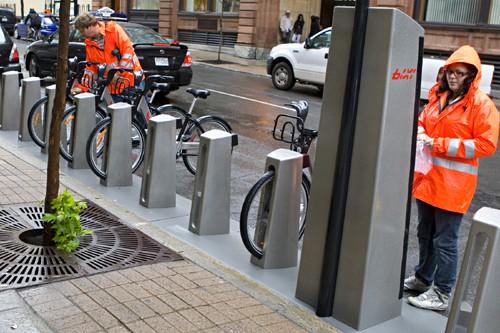 Cinq milles bicyclettes Bixi ont été mises à... (Photo: François Roy, Archives La Presse)