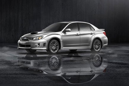 Subaru a annoncé mardi qu'elle présentera sa gamme Impreza WRX 2011 au  Salon... (Photo fournie par Subaru)