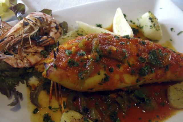 Restaurant marocaine au coeur du riad dar dalila