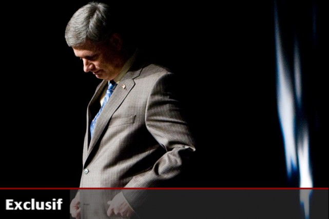 Stephen Harper... (Photo: PC)