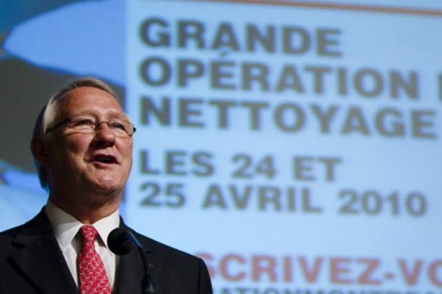 Le maire Gérald Tremblay demande à tous les... (Photo: André Pichette, La Presse)