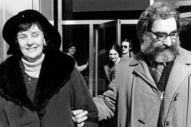 Simonne Monet-Chartrand et Michel Chartrand en 1971.... (Photo: Paul-Henri Talbot, archives La Presse)