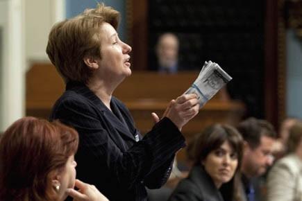 La députée péquiste Agnès Maltais a fait allusion... (Photo: PC)