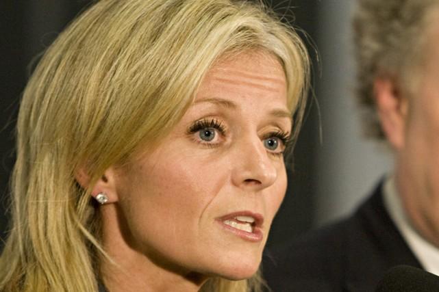 La présidente du conseil d'administration de la Société... (Photo: François Roy, La Presse)