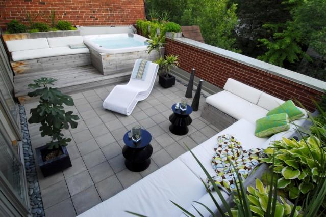 Terrasses et patios l 39 loge du vide marie france l ger for Plans patios et terrasses