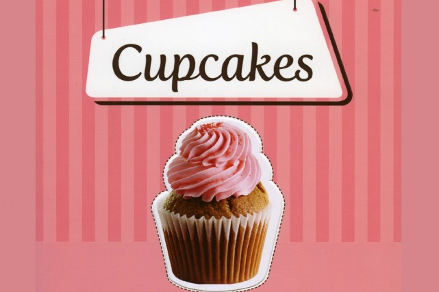 Le livre Cupcakes de Julien Guillegault....