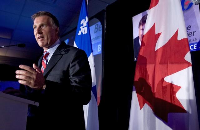 L'ex-ministre conservateur, Maxime Bernier.... (PHOTO: ALAIN ROBERGE, ARCHIVES LA PRESSE)