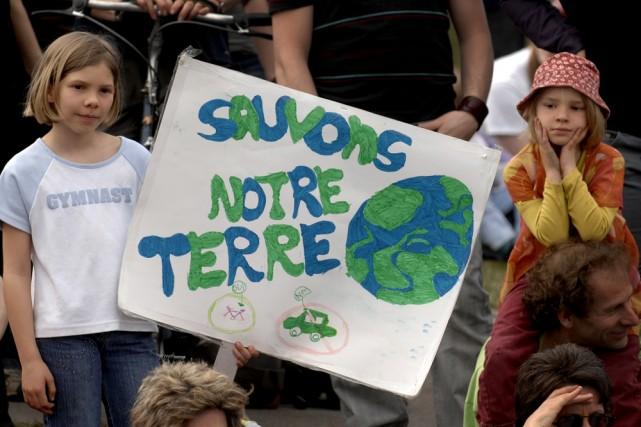 En cette Journée de la Terre, le moment... (Photo: Bernard Brault, archives La Presse)