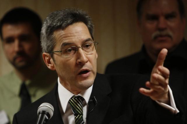 Le député de L'Assomption et porte-parole de l'opposition... (Photo: Martin Chamberland, Archives La Presse)