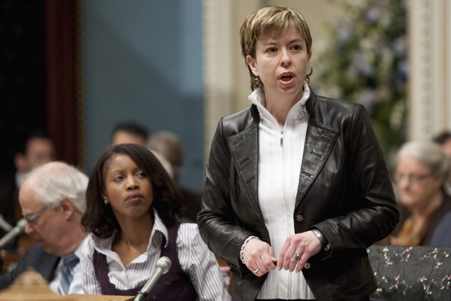La ministre des Services gouvernementaux, Dominique Vien... (Photo: PC)