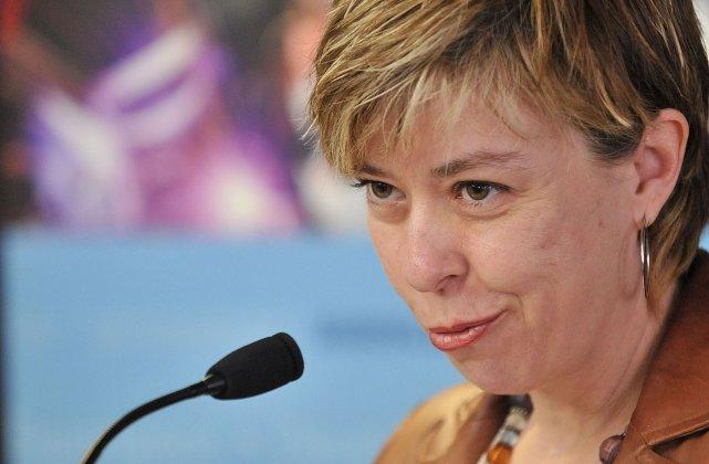 La ministre déléguée aux Services sociaux, Dominique Vien.... (Photothèque Le Soleil, Steve Deschênes)
