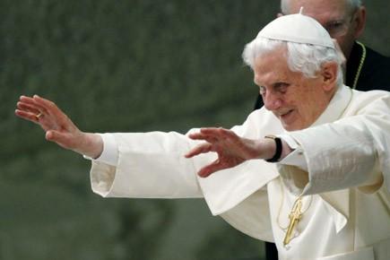 Le pape Benoît XVI a mis en garde samedi contre Internet et le risque de... (Photo: Reuters)