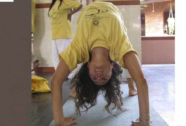 Les classes d'asanas (posture de yogas) sont parfois... (Photo: Sylvie St-Jacques, La Presse)